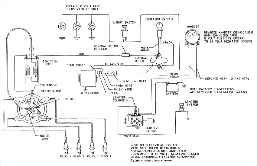 1941 ford 9n wiring diagram resistor 12 volt conversion tractor enthusiasts diagrams o electrical schematic for jpg