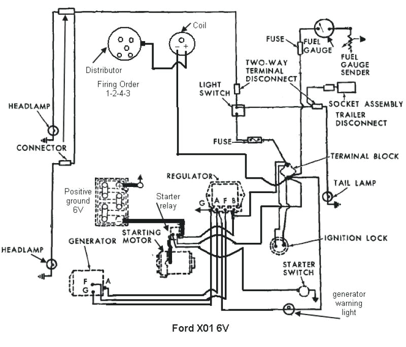 8n ford tractor wiring diagram 6 volt luxury 1948 ford 8n tractor ignition wiring diagram electrical systems