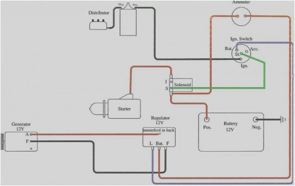 beautiful of 6 volt positive ground wiring diagram pertronix lively generator 6 jpg