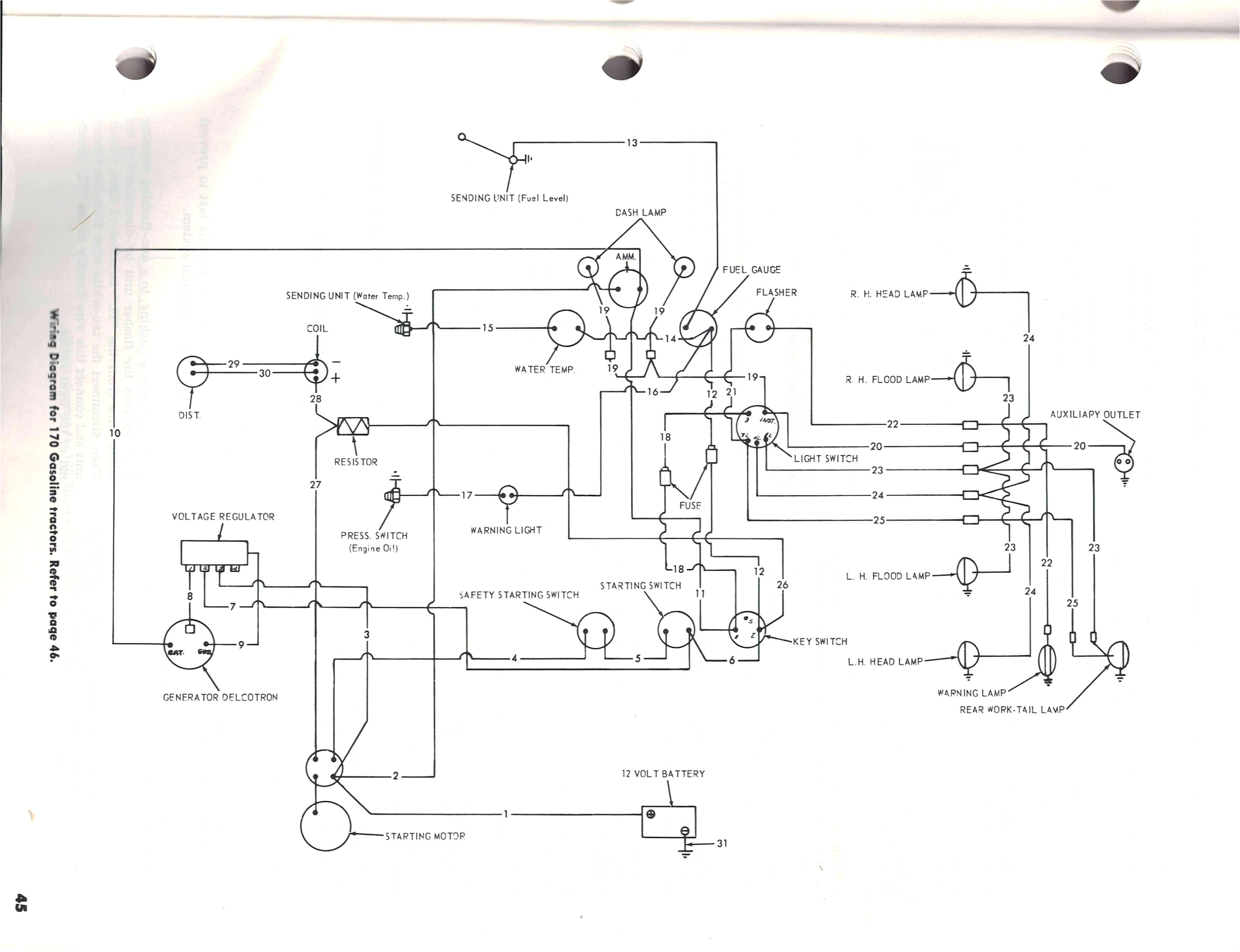 6 volt 9n ford tractor wiring diagram library with 9n jpg