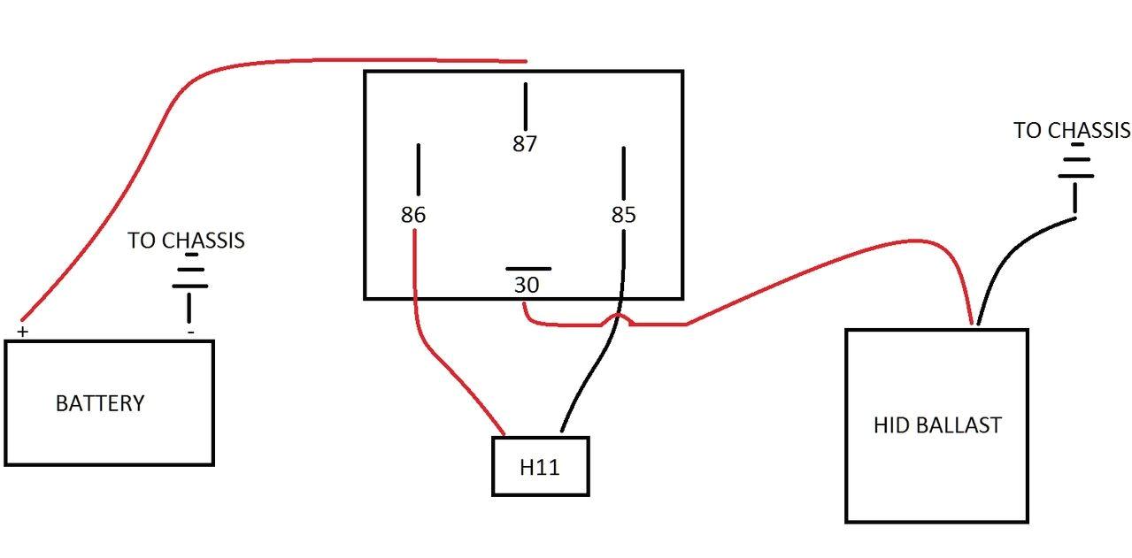 hid conversion wiring diagrams