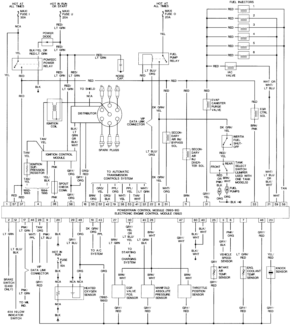 2015 ford f 150 wiring diagram free blog wiring diagram 1995 f150 4 9 engine pic