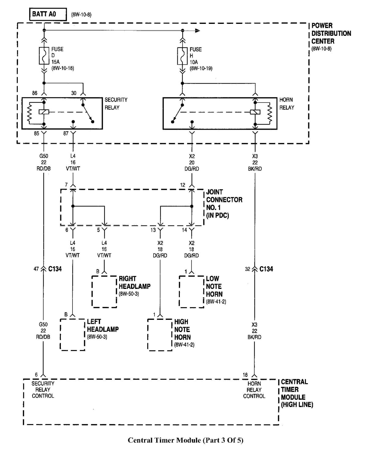 98 dodge ram wiring diagram