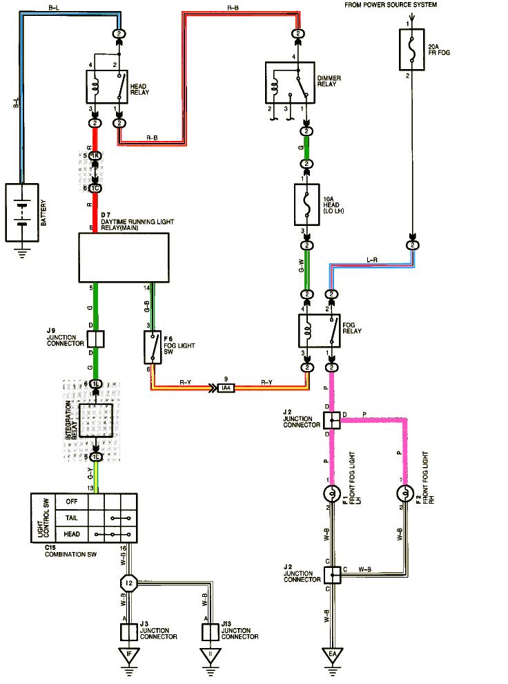 Aftermarket Fog Light Wiring Diagram Fog Light Wiring Schematic Wiring Diagram