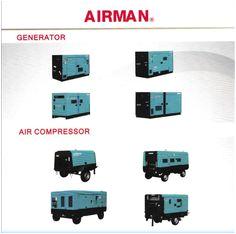 generator industry airman set by sunway