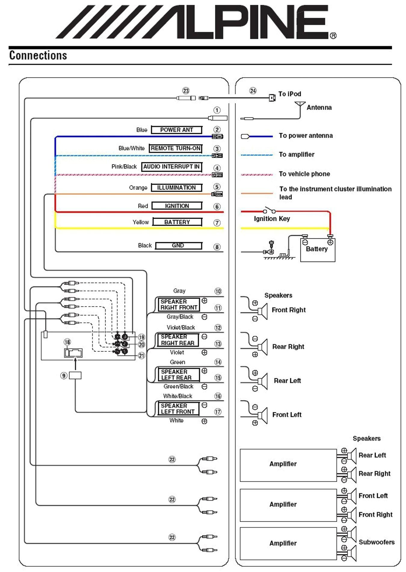 alpine ktp 445 wiring schema wiring diagram alpine ktp 445 amp wiring harness color code alpine ktp 445 amp wiring harness color code