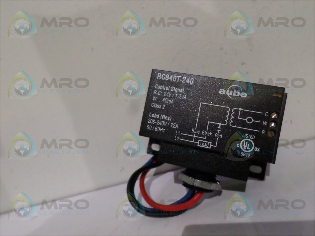 get quotations a aube technologies aube rc840t 240 on off switching electric heating relay with built