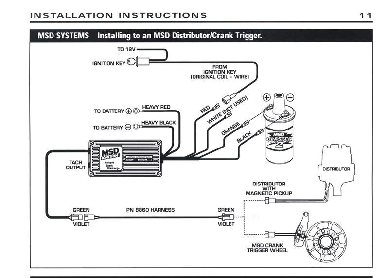 msd 6a tach wiring schema diagram preview auto meter tach to msd 6al box wiring