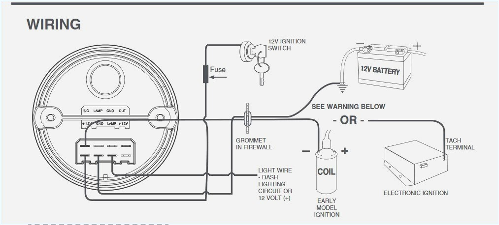 Autometer Sport Comp Tachometer Wiring Diagram Tachometer Wiring Diagram Wiring Diagram