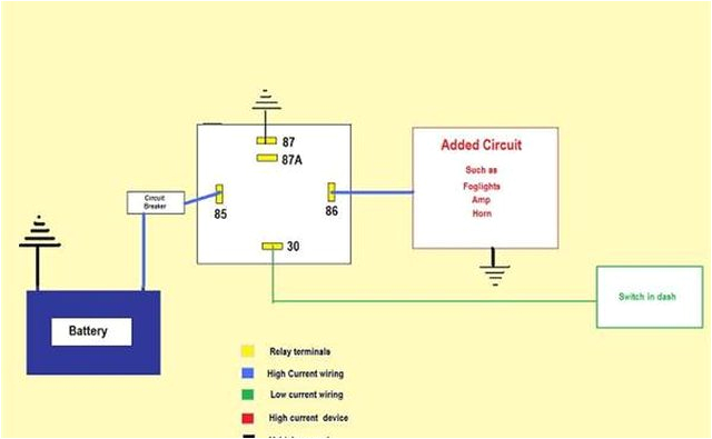 how to wire an automotive relay it still runs wiring an automotive relay diagram automotive relay