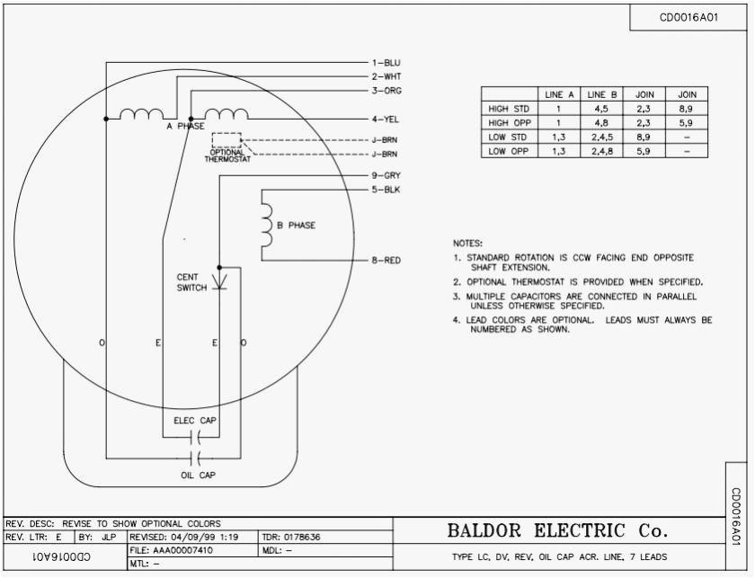 Baldor 5hp Motor Wiring Diagram Baldor Wiring Diagram Data Schematic Diagram