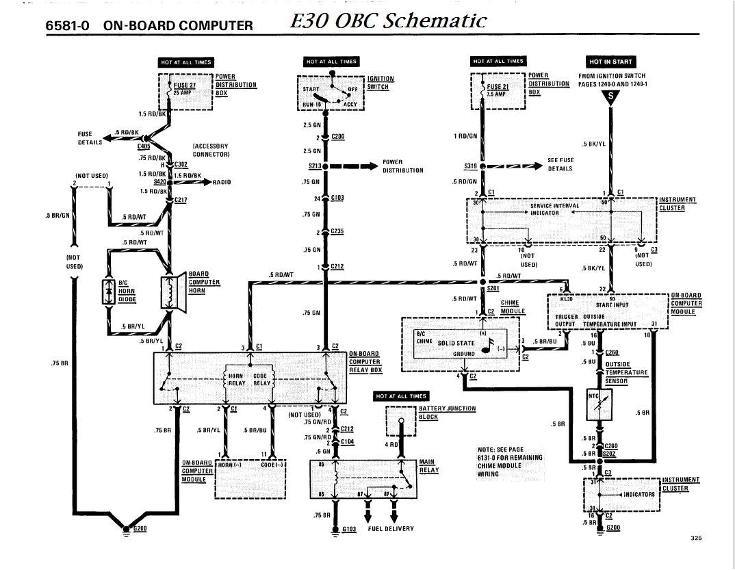 bmw e30 obc wiring blog wiring diagram bmw e30 fuel pump relay diagram bmw e30 13