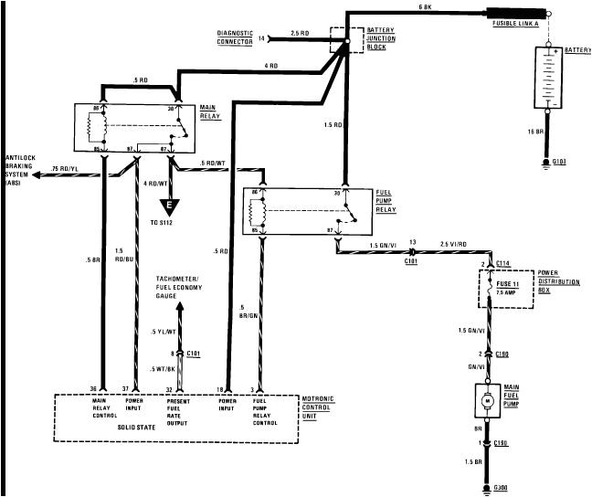 Bmw E30 Fuel Pump Wiring Diagram E30 Fuel Pump Diagram Data Schematic Diagram
