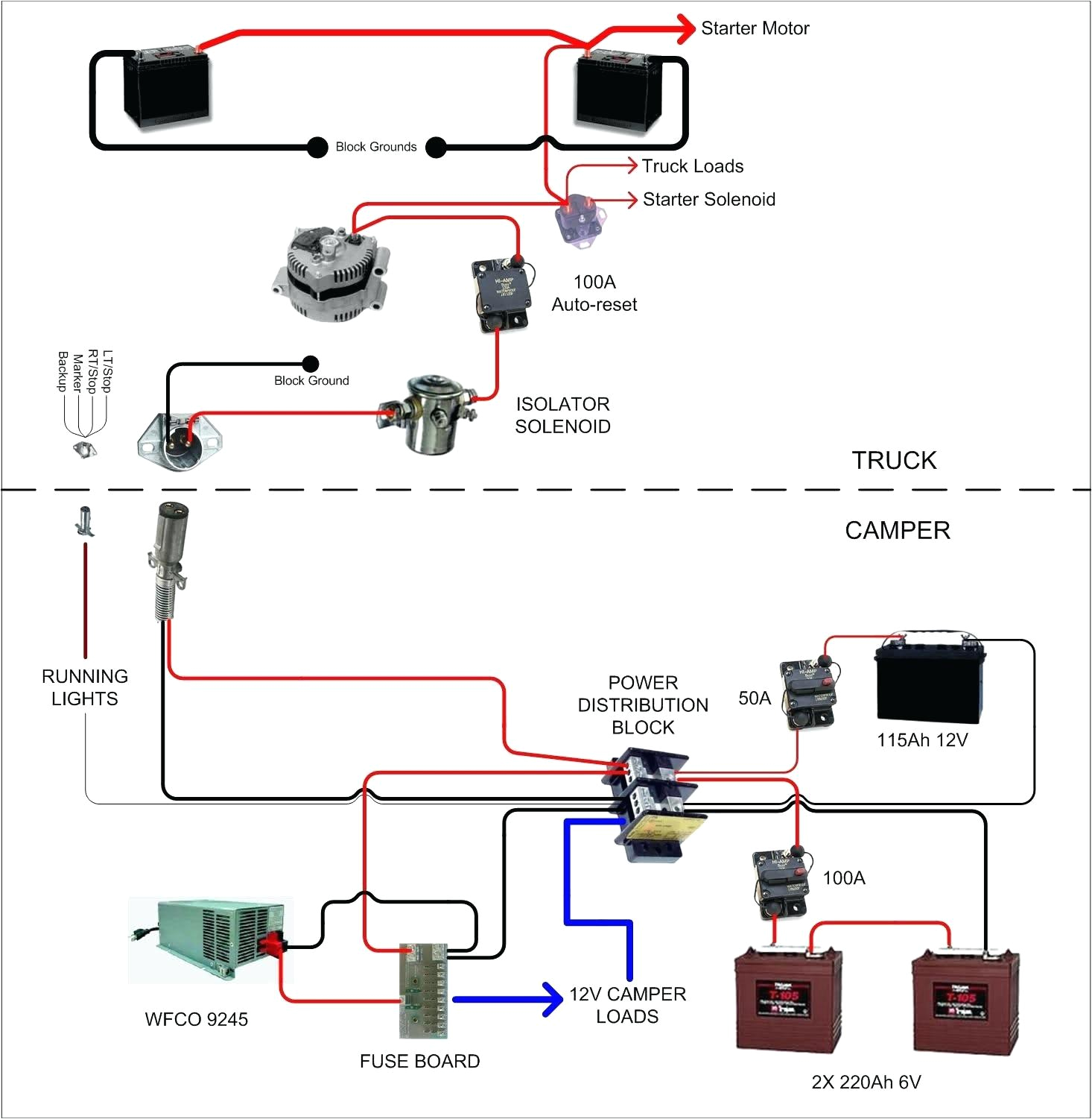 dual battery wiring diagram for boa