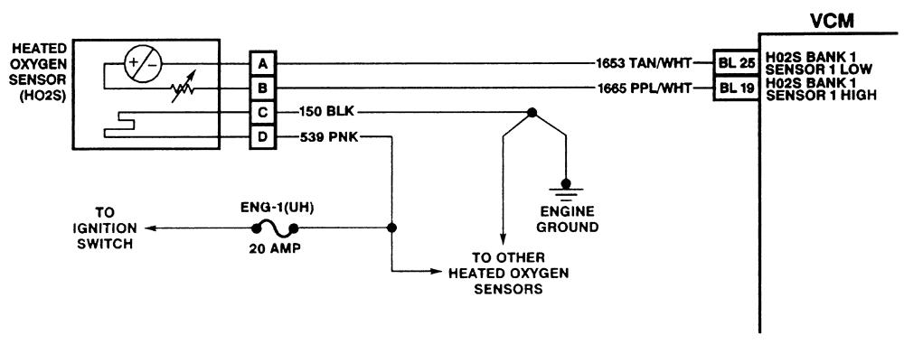 4 wire o2 sensor diagram wiring diagram page o2 sensor circuit malfunction o2 sensor schematic