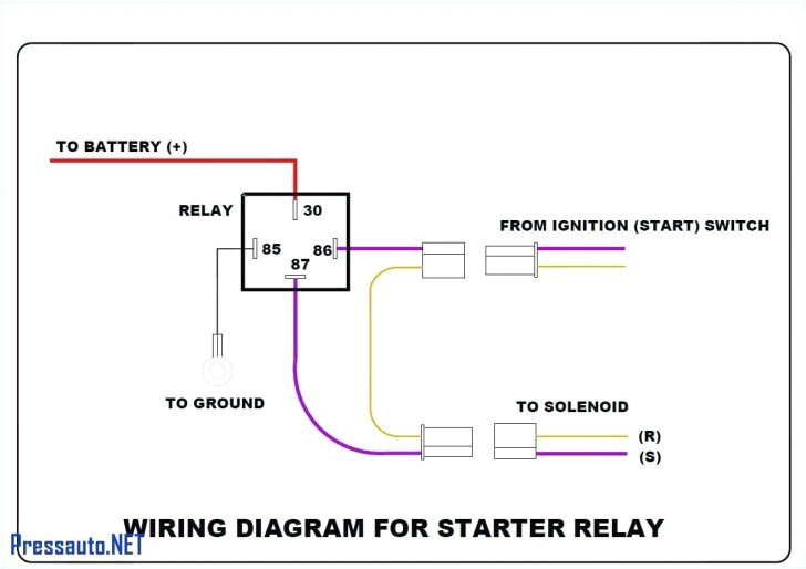 bosch 4 pin relay wiring diagram for doorbell symbols car 12 v 4 pin relay wiring diagram horn 4 wire relay diagram