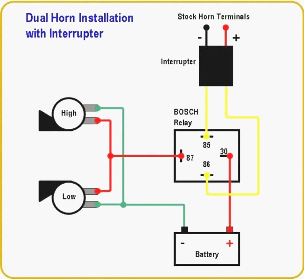 Bosch Relay Wiring Diagram for Horn Wiring Diagram Relay Bosch Horn Review Ebooks Blog Wiring Diagram