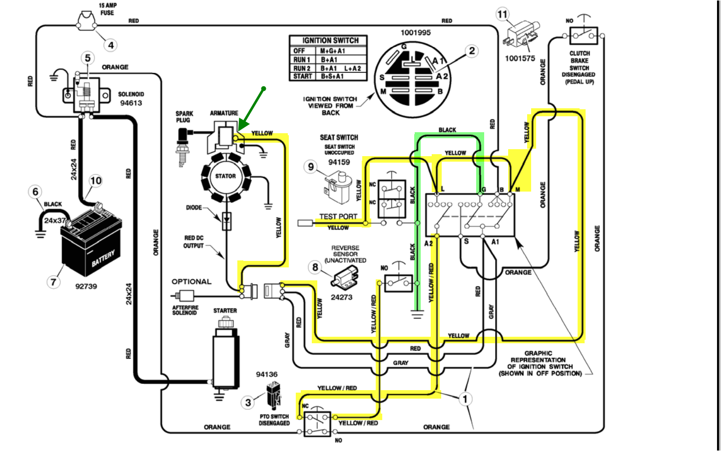 Briggs and Stratton Wiring Diagram 20 Hp 6 Pin Wiring Diagrams Briggs Wiring Diagram Show