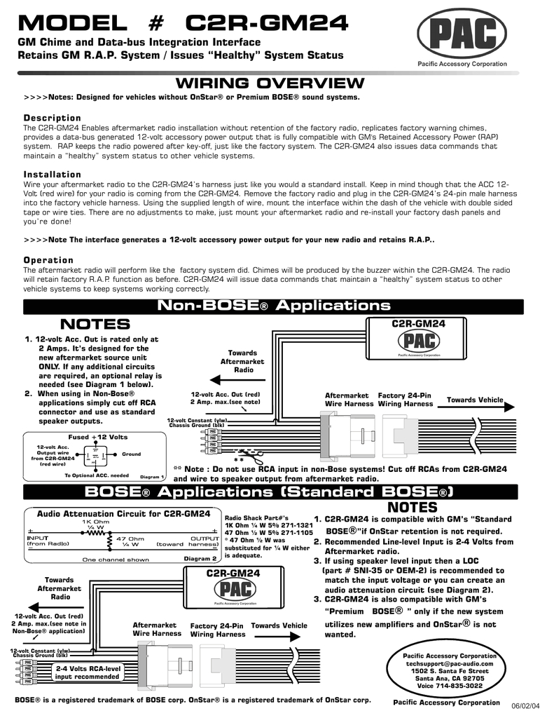 c2r gm24 manualzz com pac c2r gm24 radio wiring diagram