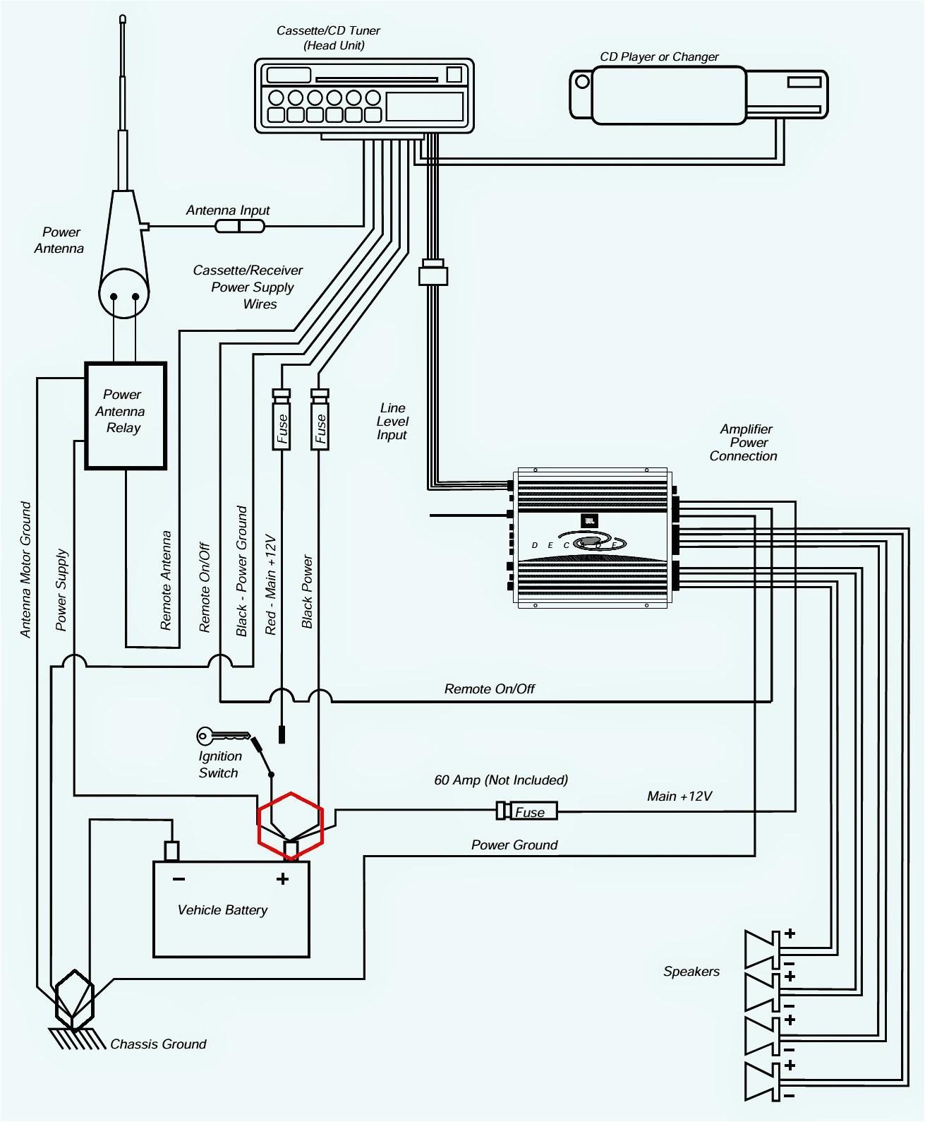amplifier circuit diagram unique car stereo power amplifier wiring diagram reference wiring diagram