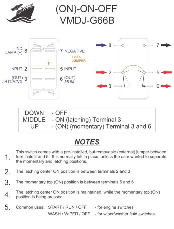 rocker switch wiring diagrams new wire marine wiring diagram for led rocker switch click to