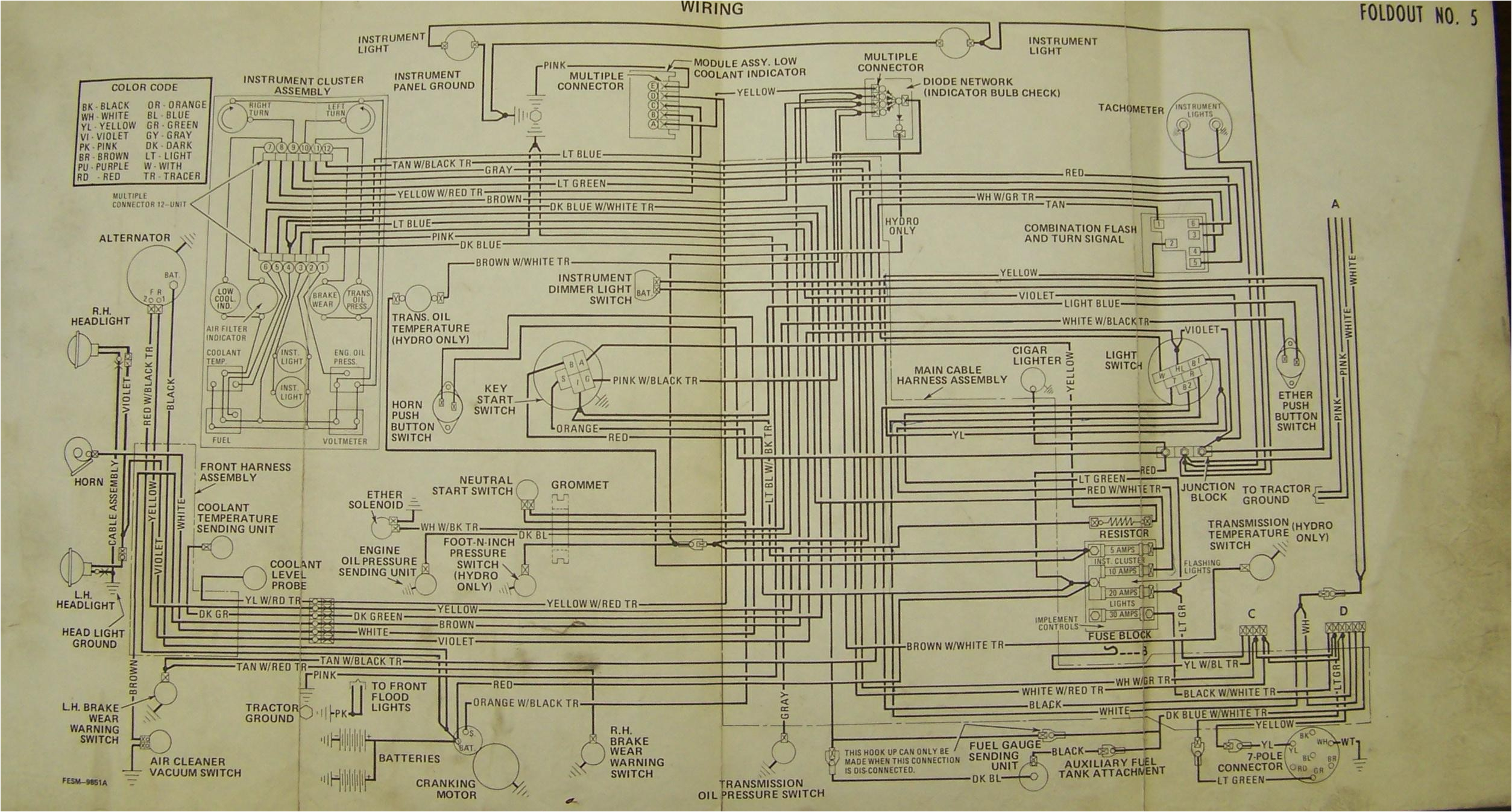 case tractor wiring diagram wiring diagram pos case ih 5240 wiring diagram