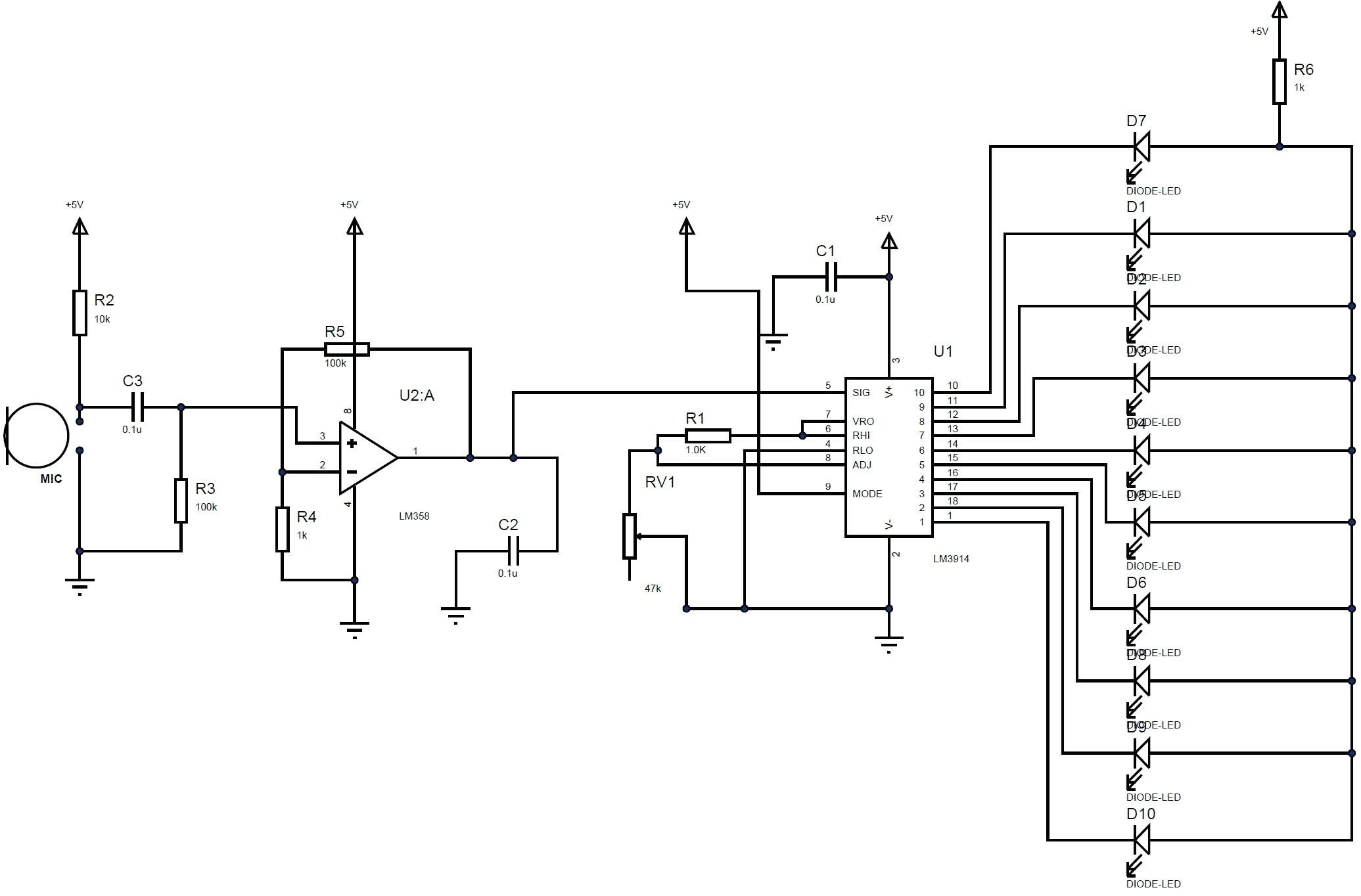 led light wiring diagram