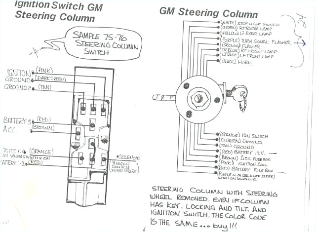 gm column wiring diagram further chevy truck steering wiring 1956 gm column wiring