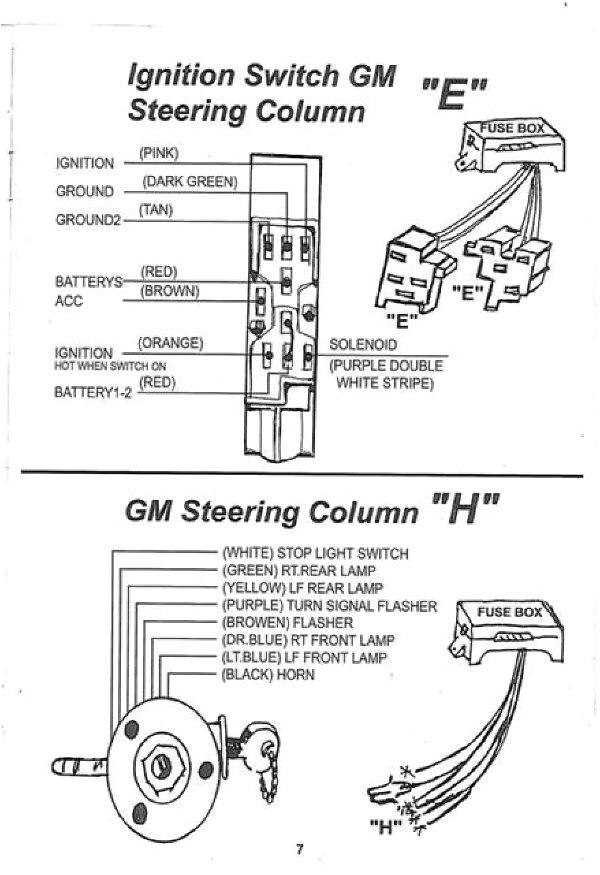 street rod steering column wiring gm wiring diagram operations 55 chevy steering column wiring diagram chevy steering column wiring diagram