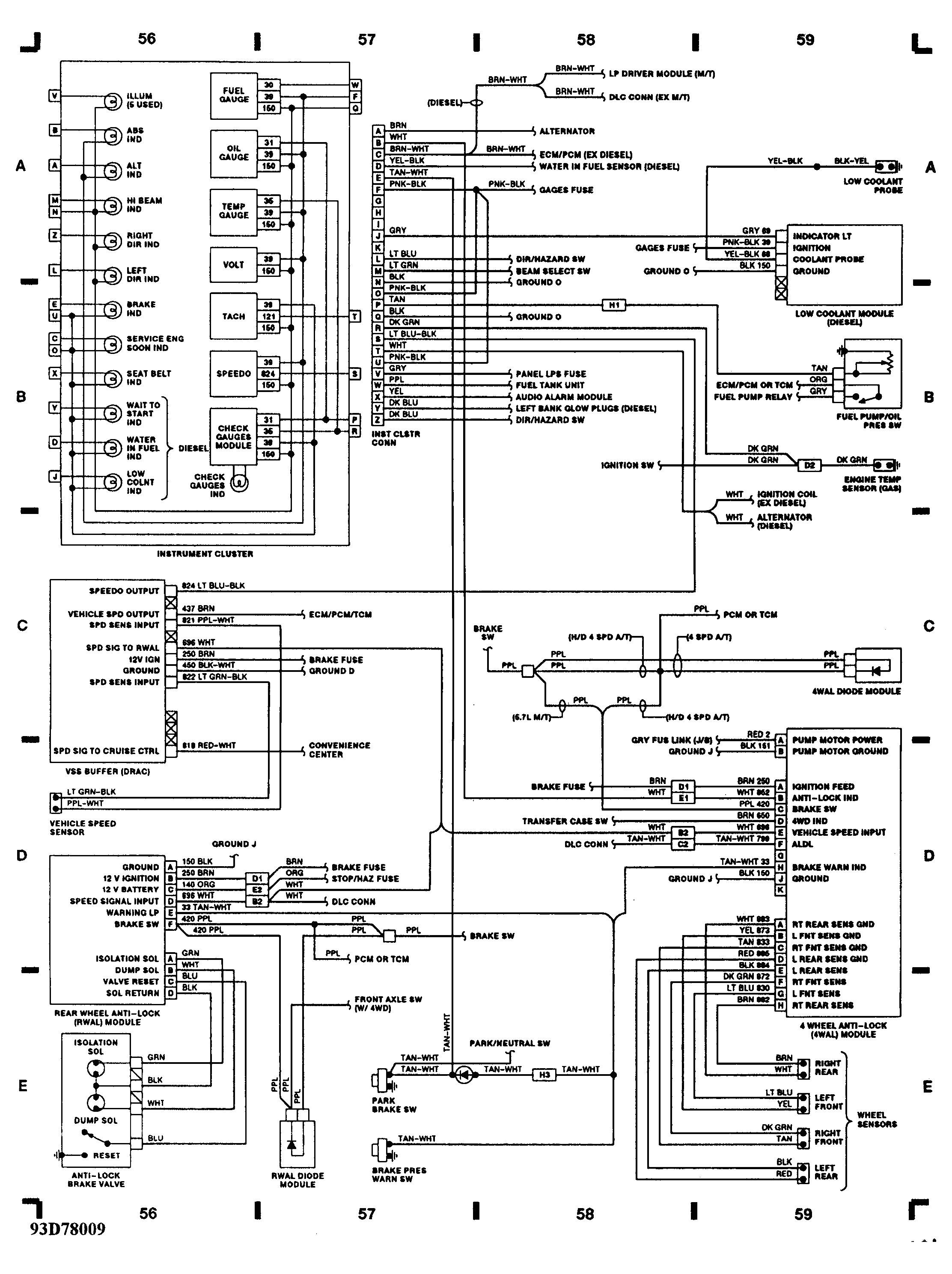 1993 chevrolet wiring diagram data schematic diagram 93 chevrolet radio wiring harness