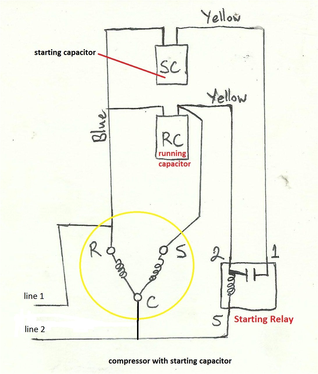 copeland current relay wiring wiring diagram files copeland quality compressor ladder diagram