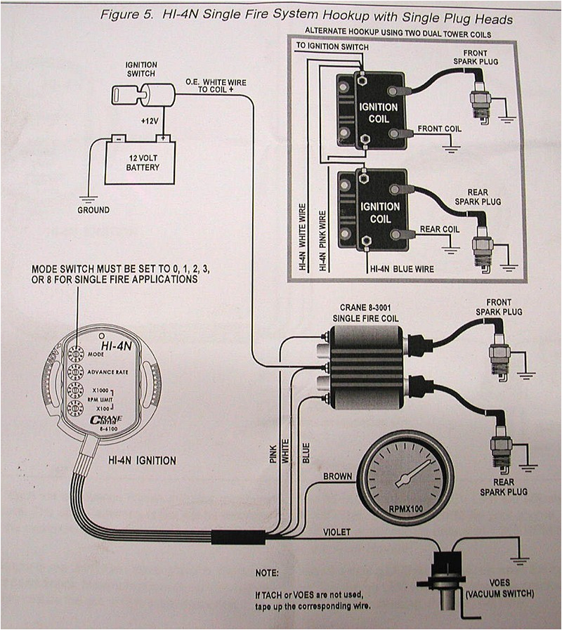 crane hi 4 single fire ignition wiring diagram elegant plete in how to wire an coil