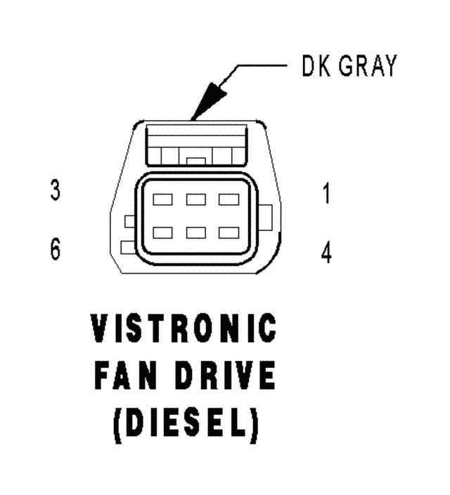 2004 dodge ram 3500 p u fan clutch wires cut u0026 fan clutch replacedvistronic fan drive