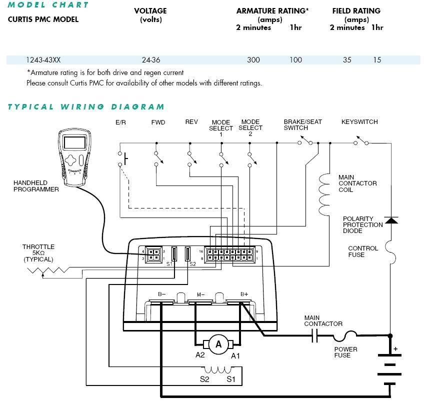 curtis 1243 wiring diy electric car forums curtis battery meter wiring diagram