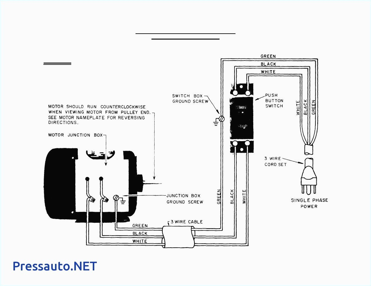 automobile starter motor circuit diagram