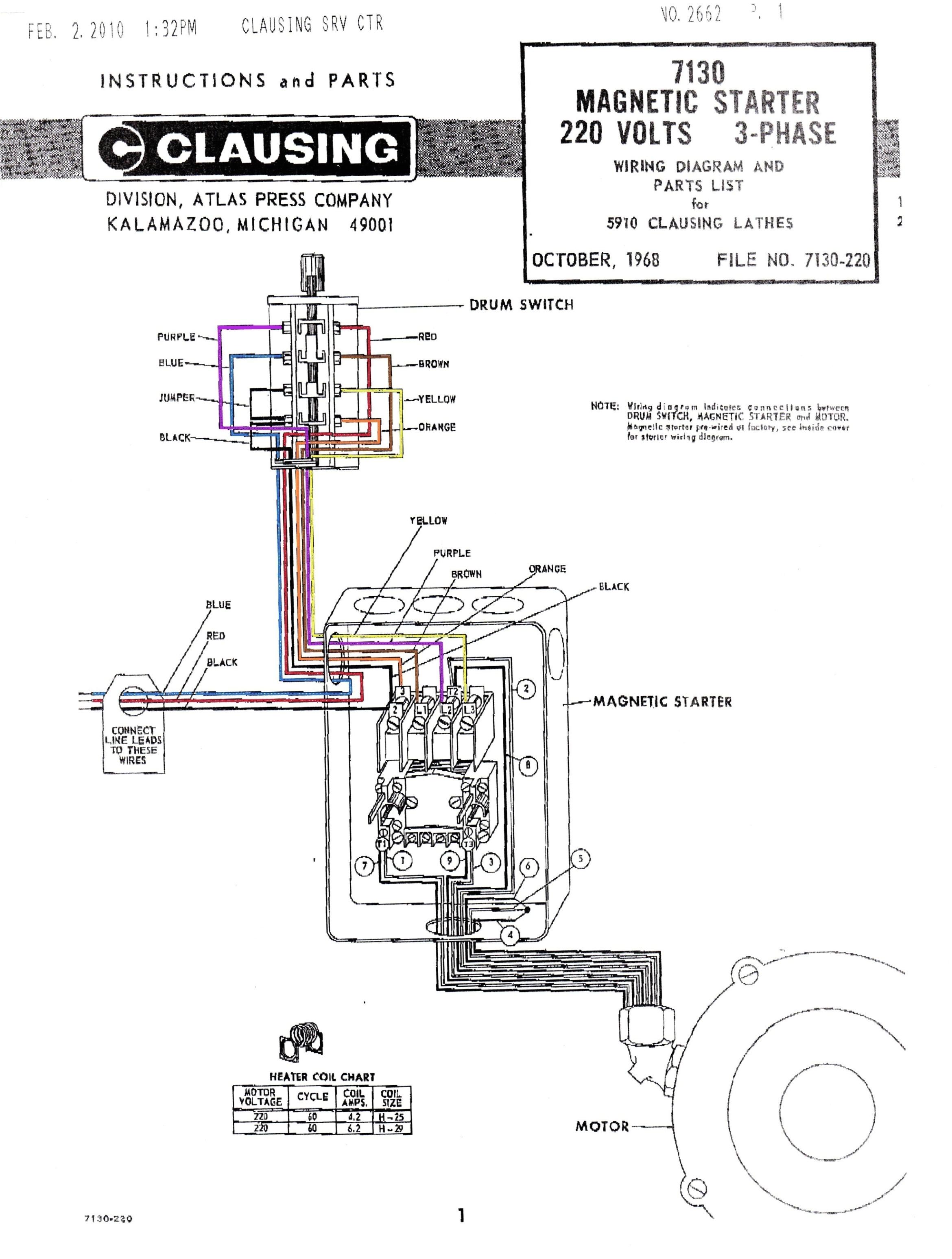 Cutler Hammer Starter Wiring Diagram Cutler Hammer Contactor Wiring Diagram Wiring Diagram