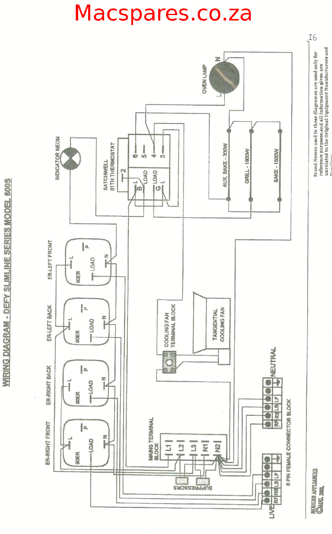 wiring diagrams stoves macspares wholesale spare partsdefy gemini wiring diagram 3
