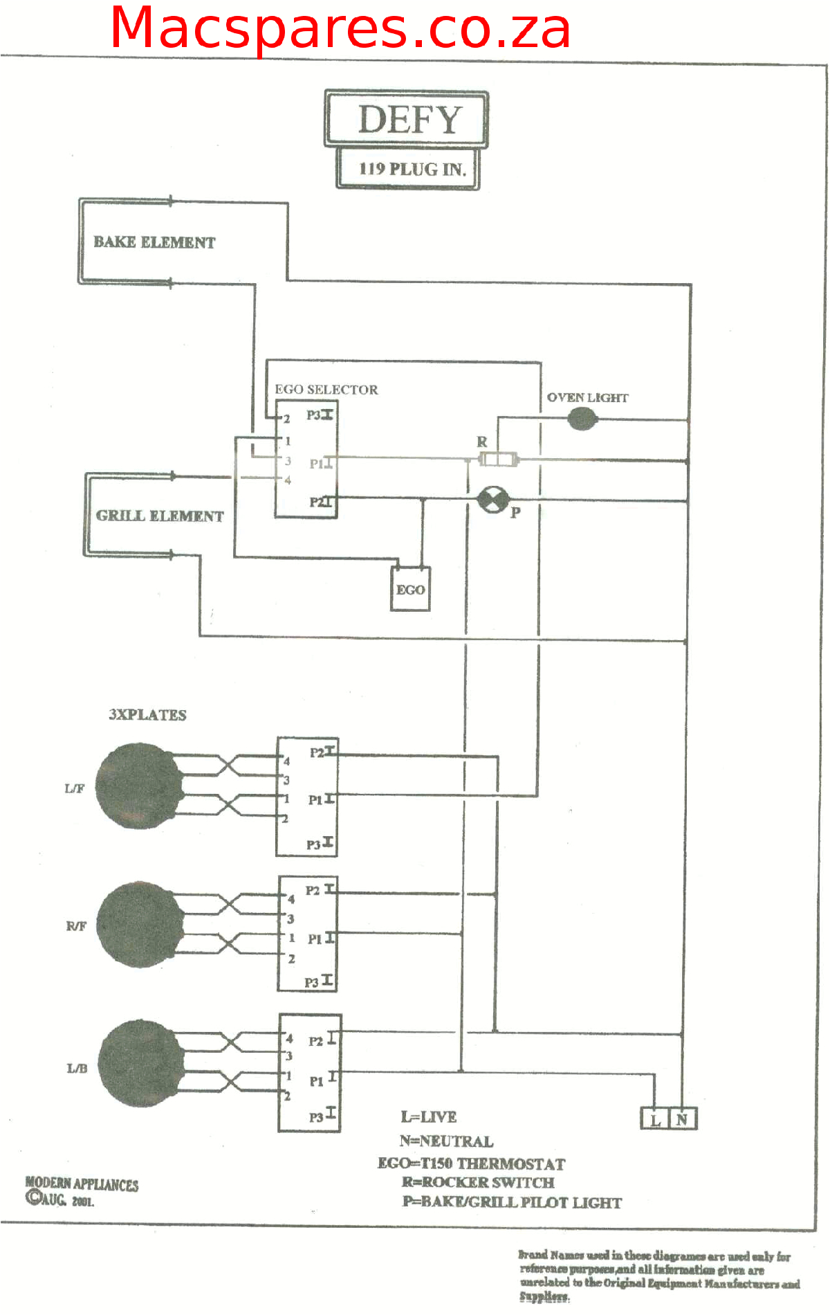 wiring diagrams stoves macspares wholesale spare partsdefy gemini wiring diagram 7