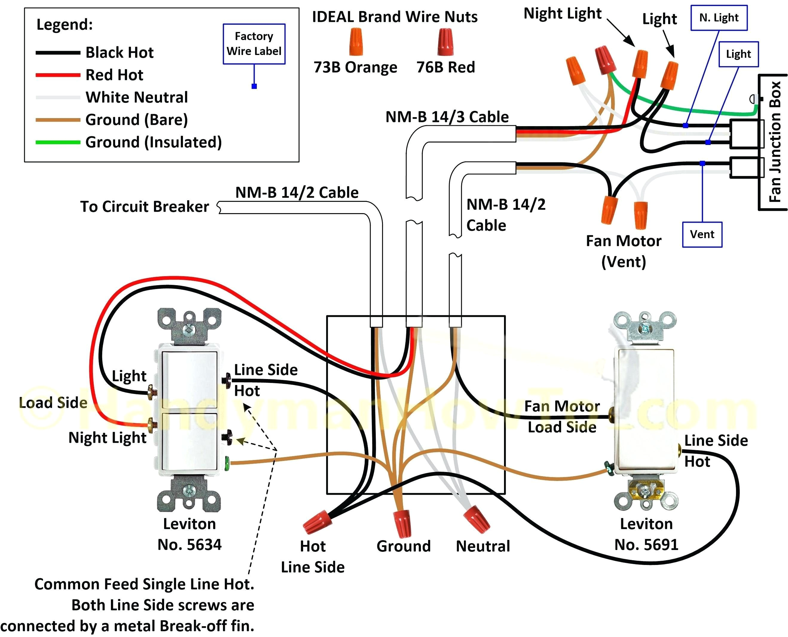 wire single pole light switch likewise leviton double pole switch leviton double switch wiring diagram