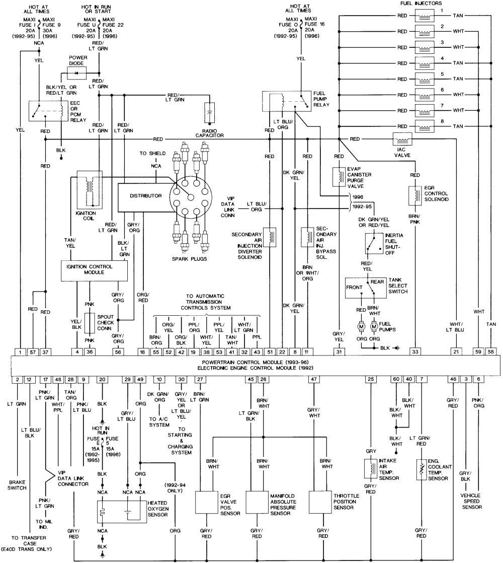 wiring diagram for 1991 ford e350 only wiring diagram files 1991 ford e 350 e4od wiring diagram