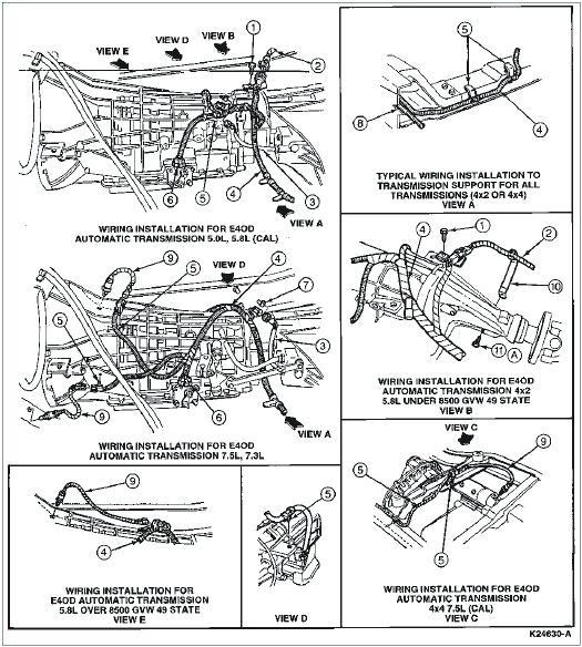 e4od automatic transmission diagram wiring diagrams for e4od transmission diagram e40d transmission diagram