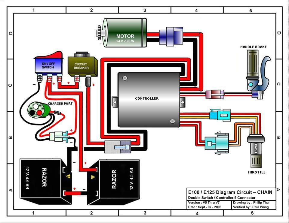 e 300 razor electric scooter wiring diagram wiring diagrams electric scooter controller wiring diagram e 300