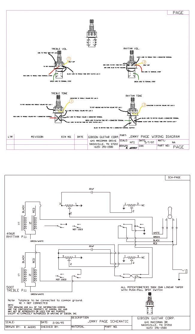 wiring diagram review gibson 335 schematicsgibson jimmy page les paul signature 2 pick up