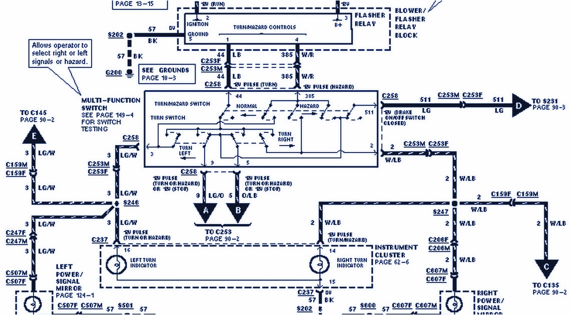 1998 f150 wiring diagram