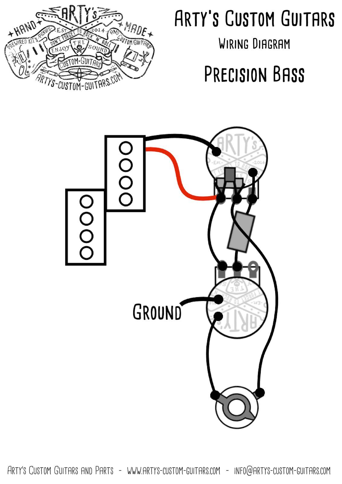 Fender Precision Bass Wiring Diagram 1959 Fender Precision Bass Wiring Diagram Wiring Diagram