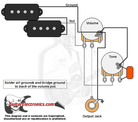 p bass style wiring diagram wiring diagram of bass guitar