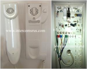 audio brand door entry handset