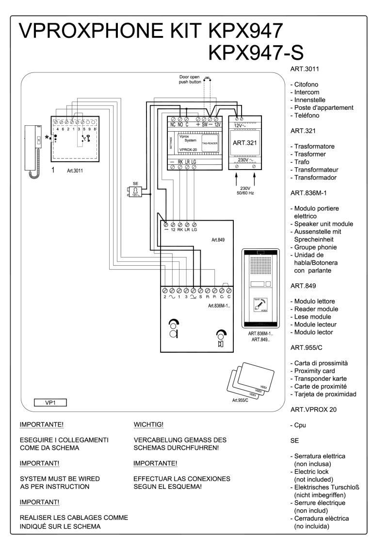 intercom wiring schematic