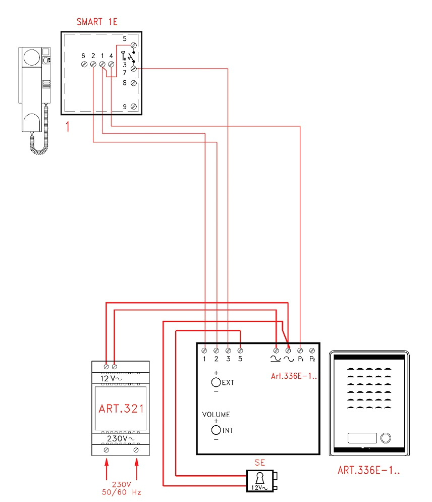 Fermax Intercom Wiring Diagram Intercom Wiring Schematic Wiring Library