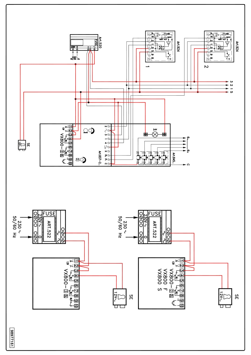 videx series wiring diagrams and fermax intercom diagram new at